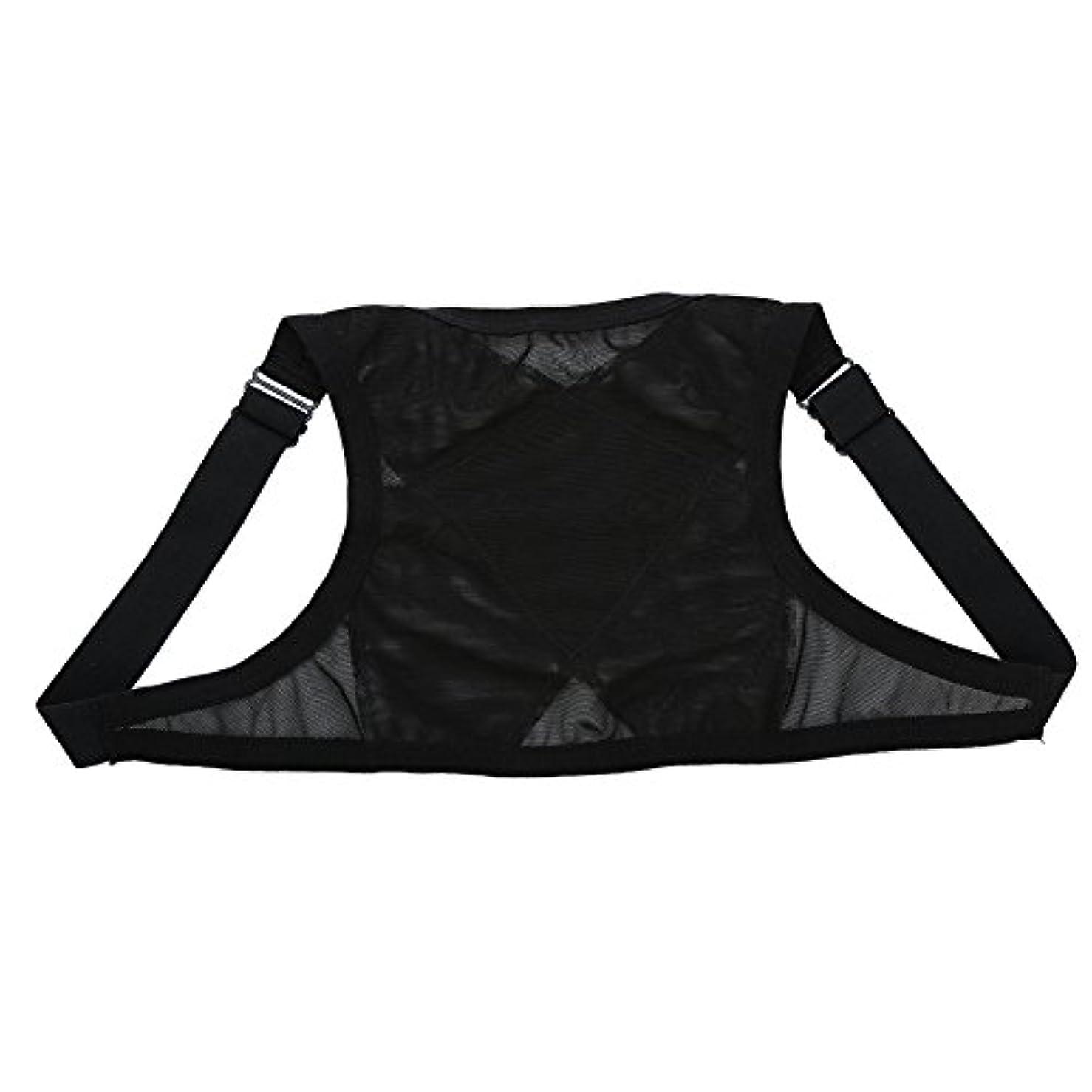 生む遅らせるスロープ姿勢矯正具、整形外科用矯正具、肩の体位の矯正、整形外科用こぶの軽減のための包帯矯正具、青年用(M)