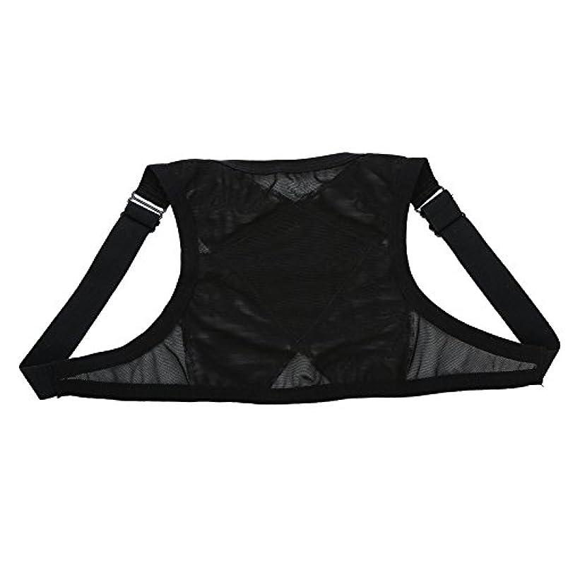オーブンドループチロ姿勢矯正具、整形外科用矯正具、肩の体位の矯正、整形外科用こぶの軽減のための包帯矯正具、青年用(M)