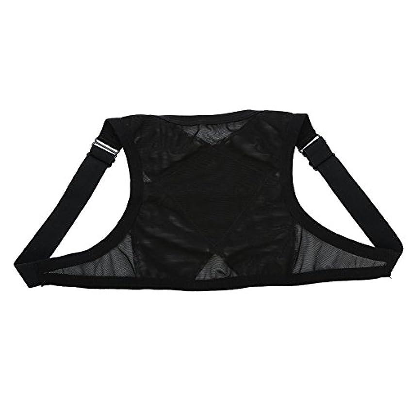 グリーンバック胴体傑作姿勢矯正具、整形外科用矯正具、肩の体位の矯正、整形外科用こぶの軽減のための包帯矯正具、青年用(M)