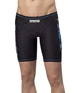 arena(アリーナ) フィットネス 水着 メンズ スパッツ タフスーツ Sサイズ ブラック×ブルー(BKBU) FSA-8631