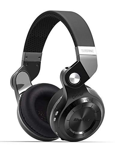 Bluedio T2S Turbine 2 Bluetoothワイヤレスヘッドホン 折畳回転式 ブラック