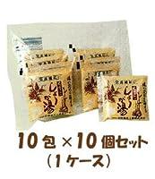 葛(くず)入り しょうが湯 10包×10個セット 【日野薬品】