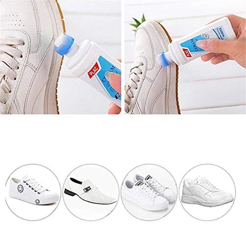 そばにキャップ橋脚靴クリーナー 白い靴専用クリーナー 白い靴スクラブ 白いアーティファクトスポンジ用 ホワイトシューズクイックホワイトニング剤