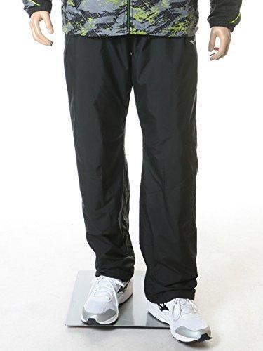 [해외](미즈노) MIZUNO 큰 사이즈 남성 BREATH THERMO 발수 로고 무지 허리 고무 바지/(Mizuno) MIZUNO large size men`s BREATH THERMO water repellent logo solid color waist rubber pants