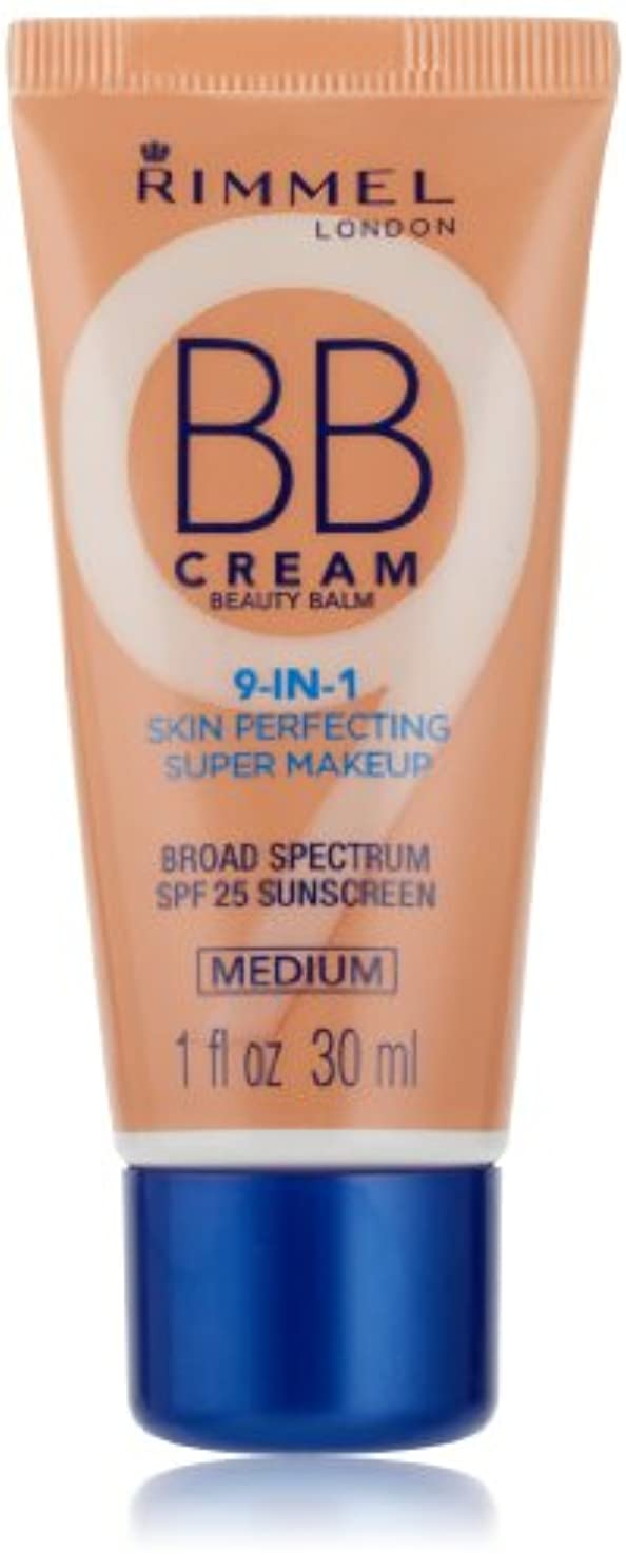 コンデンサードライブ急いでRIMMEL BB CREAM 9-IN-1 SKIN PERFECTING MEDIUM