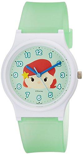 [シチズン キューアンドキュー]CITIZEN Q&Q 腕時計 ディズニー コレクション TSUMTSUM アリエル ウレタンベルト グリーン HW00-008 ガールズ