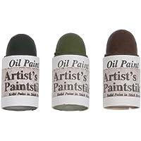 Jack Richeson Shiva Oil Paintstik, Earthtone Colors, Set of 3 by Jack Richeson