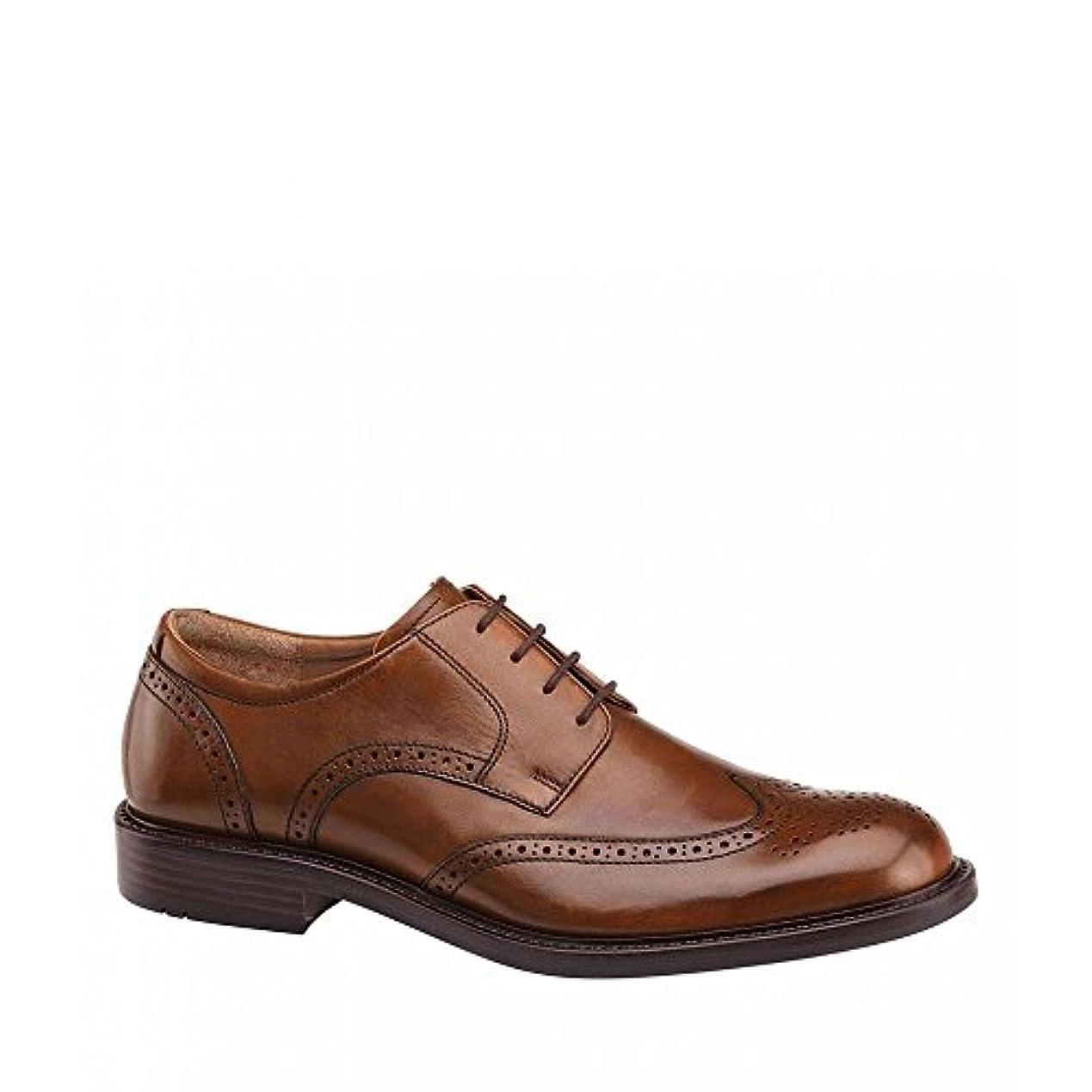 追放する使用法サリー(ジョンストン&マーフィー) Johnston & Murphy メンズ シューズ?靴 革靴?ビジネスシューズ Tabor Wingtip Oxfords [並行輸入品]