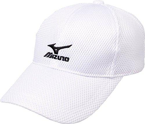 (ミズノ)MIZUNO テニスウェア キャップ [UNISEX] A75BM500 70 ホワイト×ブラック F -