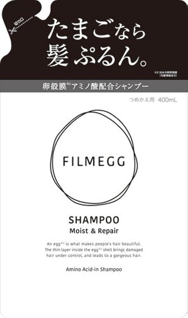 鎖電気の第九FILMEGG(フィルメッグ) シャンプー 詰替え 400ml