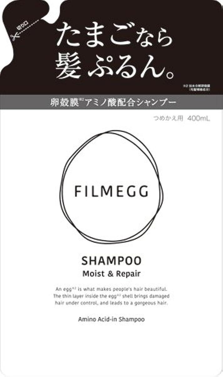 困った円周サーキットに行くFILMEGG(フィルメッグ) シャンプー 詰替え 400ml