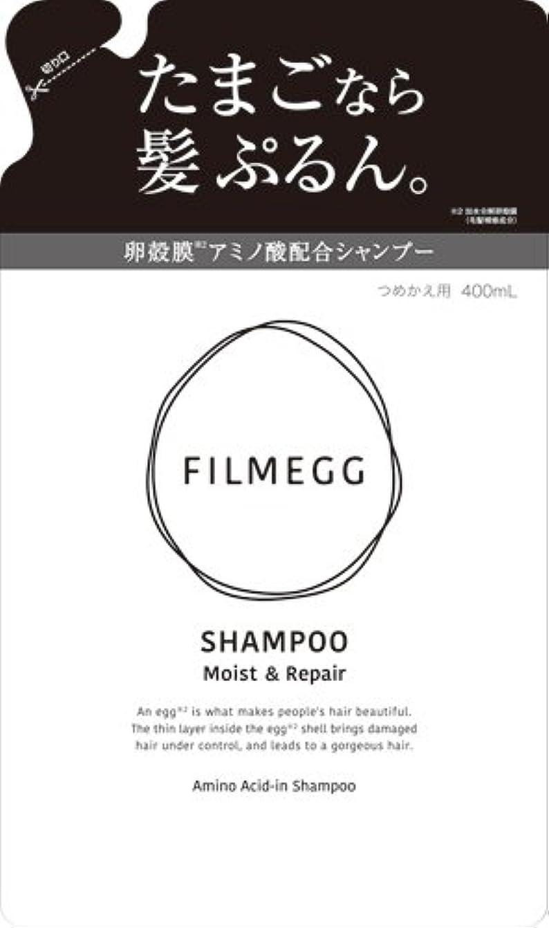 受け継ぐ静かに灌漑FILMEGG(フィルメッグ) シャンプー 詰替え 400ml