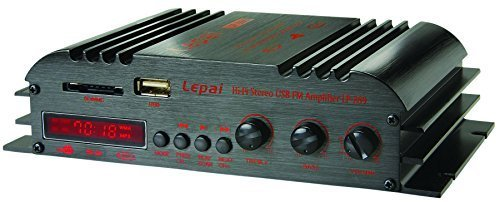 Lepai LP-269FS 4 x 45 Watts Mini Amplifier with Remote USB/MP3/SD and FM by Lepai [並行輸入品]