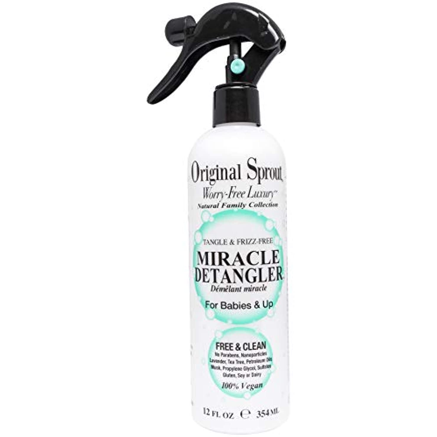 スリッパ最悪恩赦Original Sprout 005-NAT-012-MDT Miracle Detangler.All Natural Hair Care. Hair Moisturizer and Leave-In Conditioner...