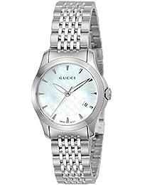 [グッチ]GUCCI 腕時計 Gタイムレス ホワイトパール文字盤 YA126533 レディース 【並行輸入品】