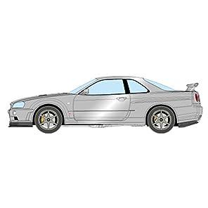 IDEA 1/18 ニッサン スカイライン GT-R (BNR34) Vスペック II 2000 アスリートシルバー 完成品