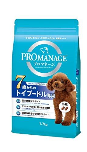プロマネージ (PROMANAGE) 犬種別 シニア犬用 7歳からのトイプードル専用 1.7kg [ドッグフード]