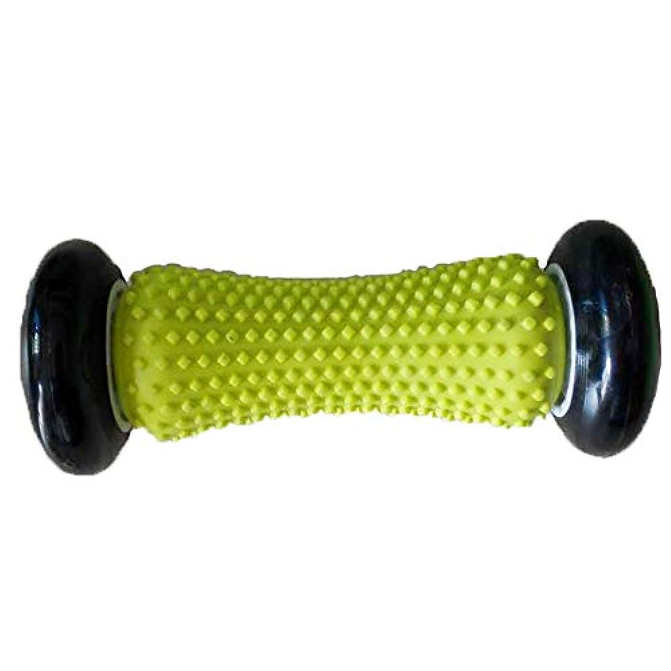 たぶんバーゲンそう足のマッサージローラー足の痛み緩和マッサージ、またはリリーフ足の筋膜炎、リラックスフットバックレッグハンドタイトマッスル,Black