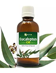 EUCALYPTUS OIL 100% NATURAL PURE UNDILUTED UNCUT ESSENTIAL OIL 100ML