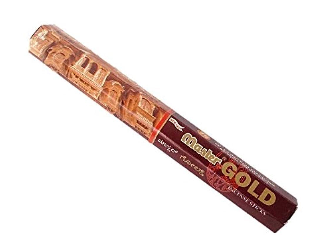 お酢引退する手錠ADARSH AROMATICS(アダーシュ)お香:マスターゴールド スティックお香/インセンス/1箱