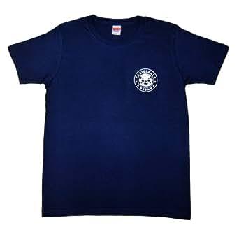 ちっちゃいおっさん めっちゃワンポイントTシャツ(ネイビー) (メンズMサイズ)