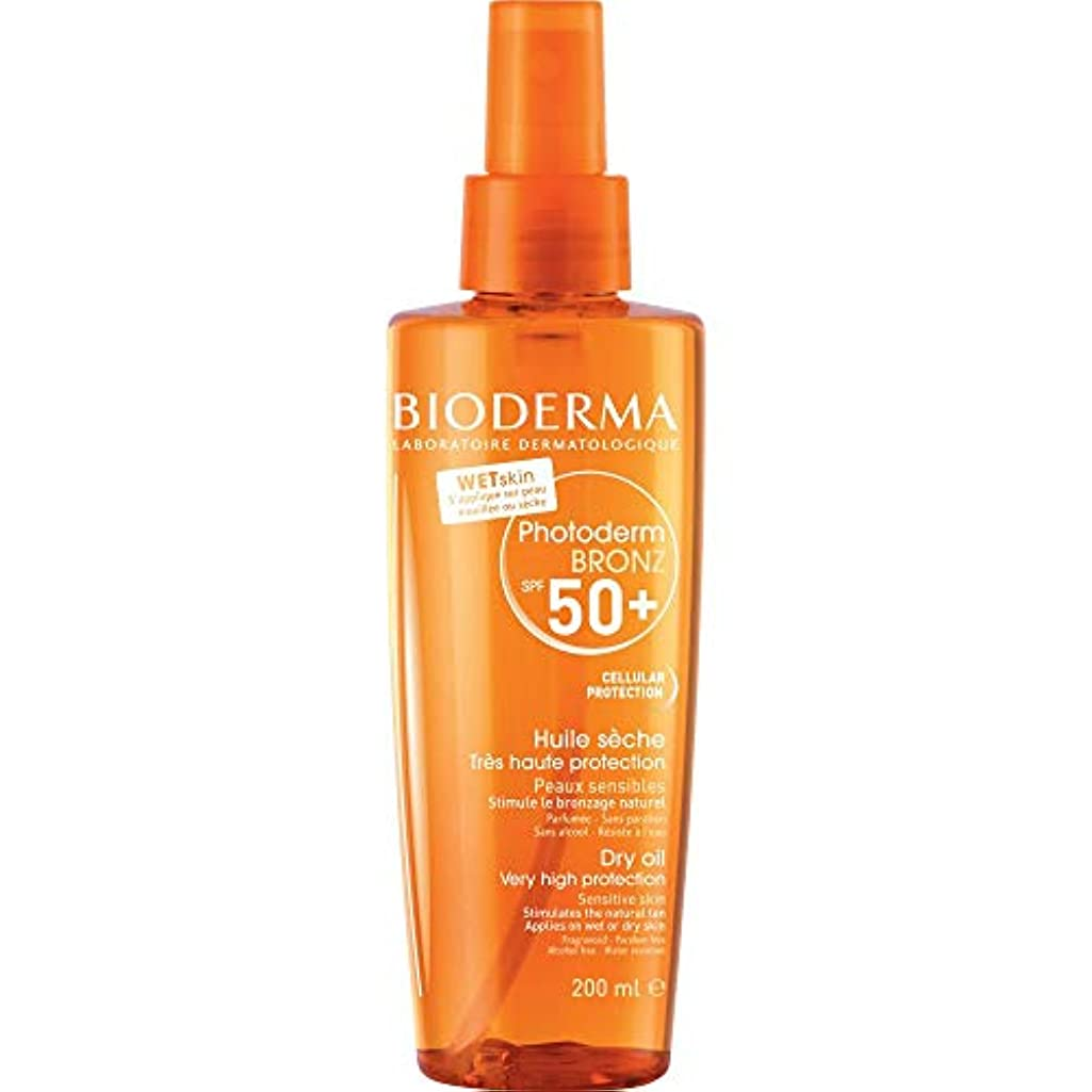 聴く施しお手伝いさん[Bioderma] BiodermaのPhotodermのBronz - ドライオイルSpf50の200ミリリットル - Bioderma Photoderm Bronz - Dry Oil SPF50 200ml [並行輸入品]