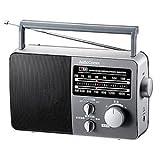 オーム電機 ポータブルラジオ グレー RAD-F770Z-H