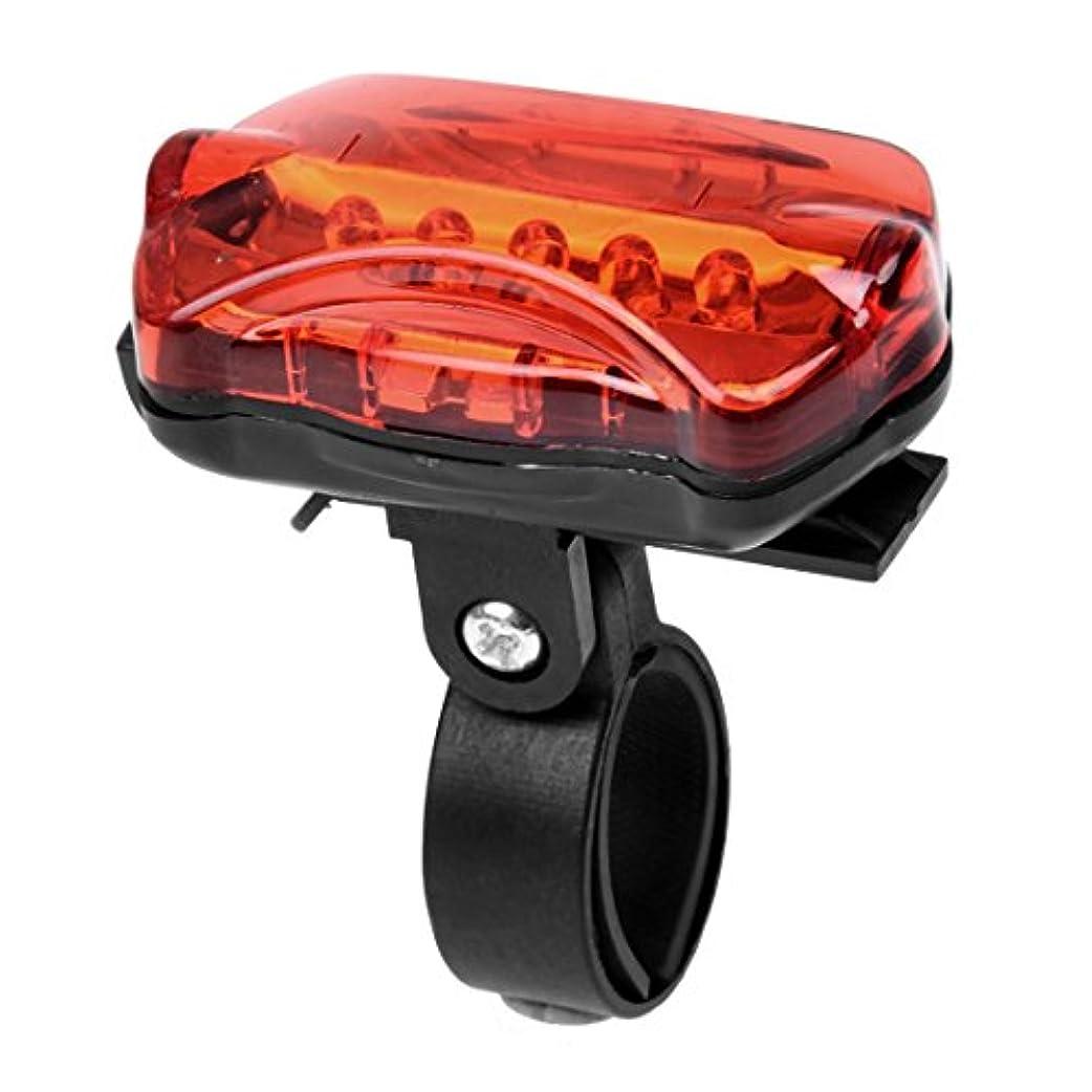 過半数引退した国勢調査Gaoominy 1パック 5 LEDバタフライ自転車テールライト