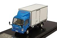 REALSOK 1/64 いすゞ NQR75 パワーゲート装着車 ブルー/ホワイト 完成品