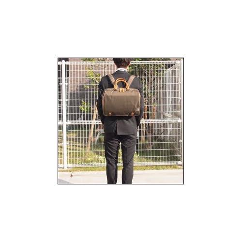 (ラガシャ) LAGASHA Geneシリーズ 3WAYビジネスバッグ 横型ビジネスバッグ 7563 (ブラック(01))
