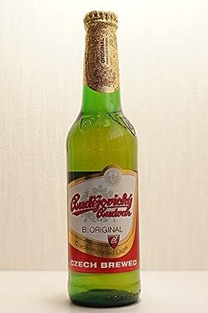 チェコの伝統的なビール ブデヨビツキブドバー330mlボトル×6本