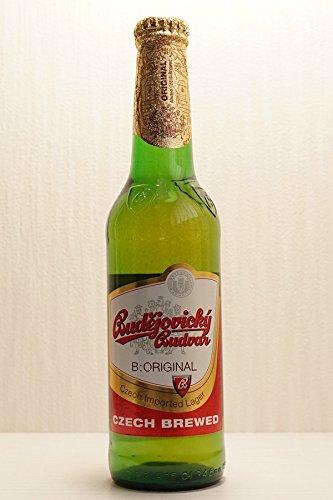 チェコの伝統的なビール ブデヨビツキブドバー330mlボトル×4本