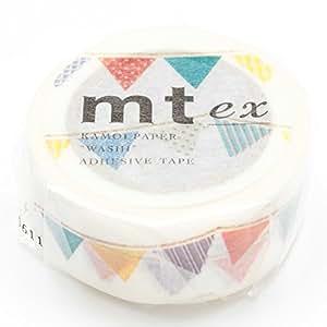 カモ井加工紙 マスキングテープex フラッグ MTEX1P82