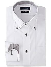 [タカキュー] Taka-Q 形態安定 レギュラーフィット ボタンダウンハンドステッチシャツ メンズ 110214619280833