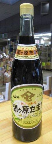 関ヶ原 たまり醤油 720ML 1本