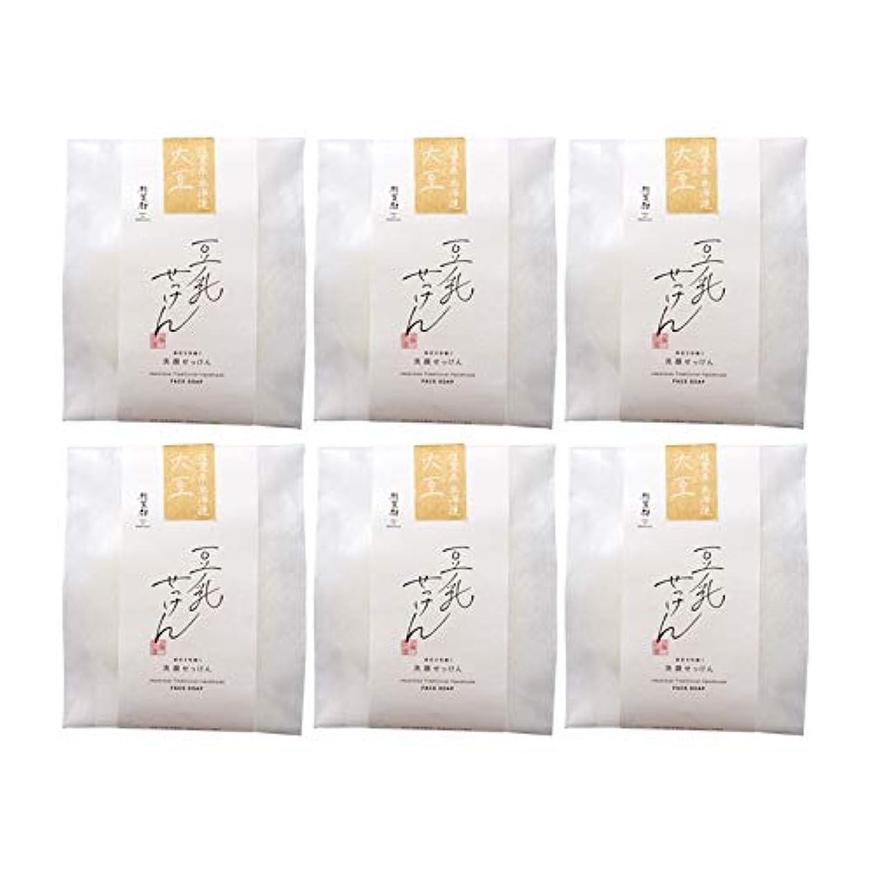 口頭比べる予想する豆腐の盛田屋 豆乳せっけん 自然生活 100g×6個セット