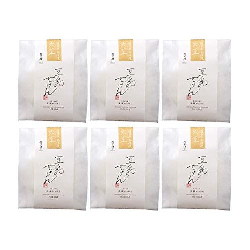こしょう不屈それ豆腐の盛田屋 豆乳せっけん 自然生活 100g×6個セット