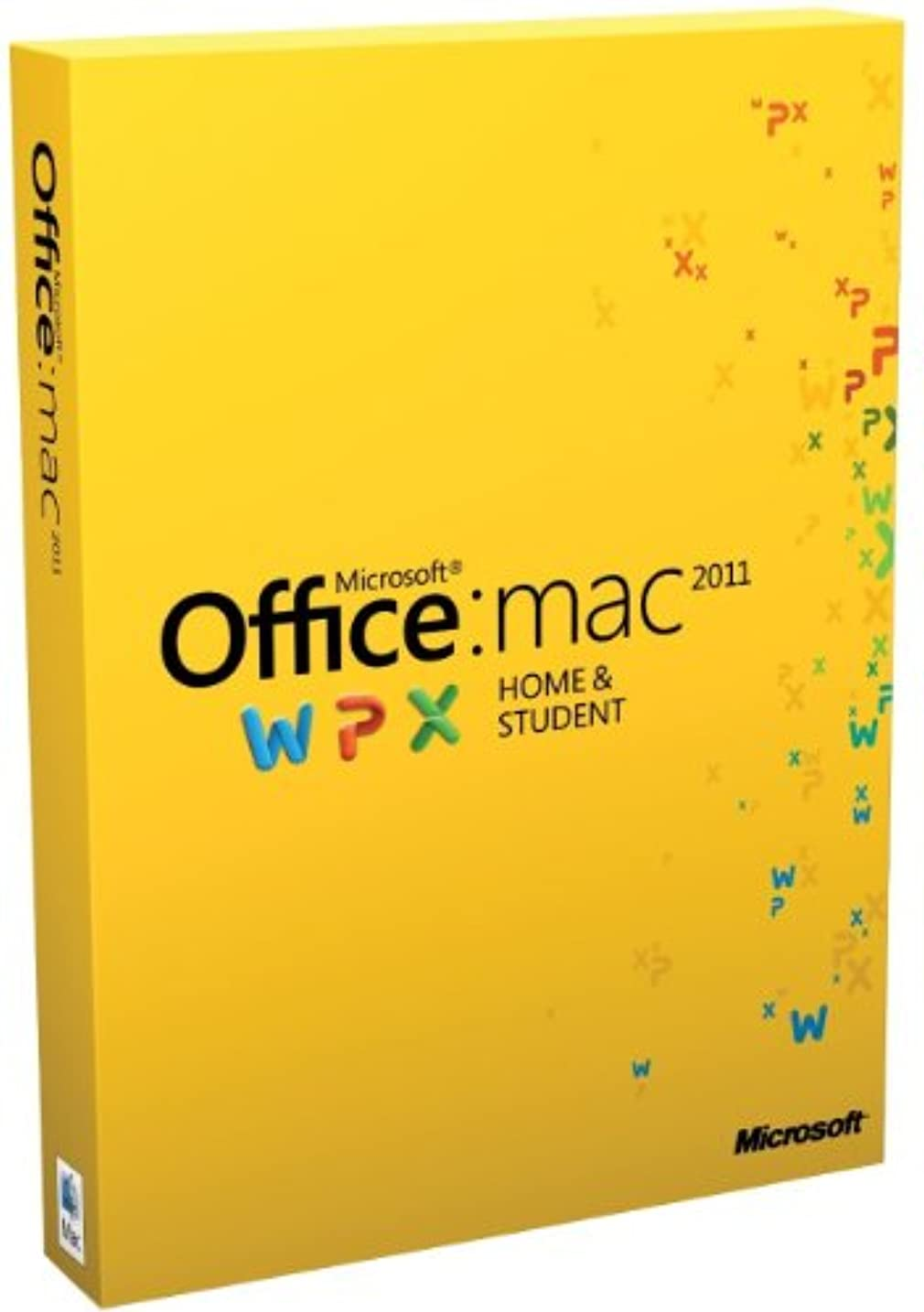 サロンホステス戦士Oprogramowanie MS Office Mac Home Student 2011/EN DVD