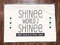 SHINee WORLD J ファンクラブ継続特典 ポーチ テミン オニュ ジョンヒョン ミノ ミンホ キー