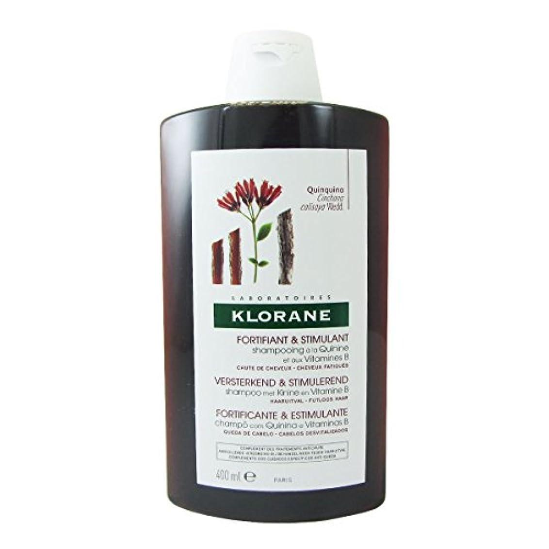 不利相関するチャームKlorane Quinine Fortifying Shampoo 400ml [並行輸入品]