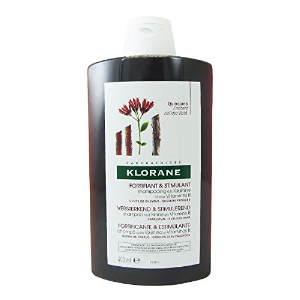 無駄な熟達会話型Klorane Quinine Fortifying Shampoo 400ml [並行輸入品]