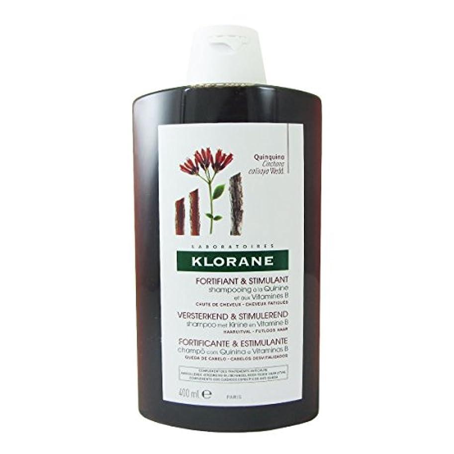 一定アマチュア発送Klorane Quinine Fortifying Shampoo 400ml [並行輸入品]