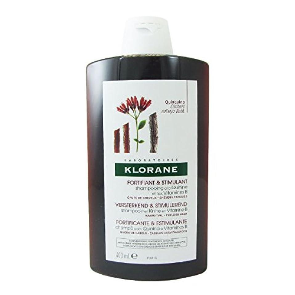 ぬいぐるみ内なるバングKlorane Quinine Fortifying Shampoo 400ml [並行輸入品]