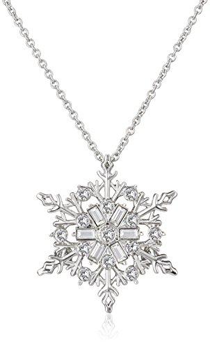 [ヴァンドーム ブティック] VENDOME BOUTIQUE スワロフスキー ® ・クリスタル 雪の結晶 ペンダント 兼 ブローチ VBMP561160UT