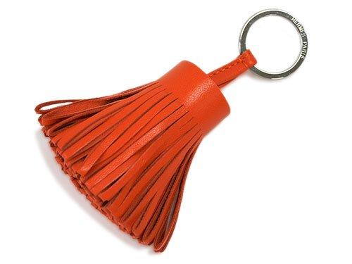 (エルメス) HERMES キーリング H327108A9J キーホルダー カルメン フー(オレンジ) シルバー金具 [並行輸入品]
