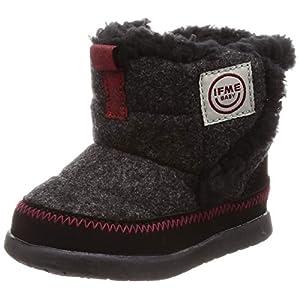 [イフミー] ベビーブーツ 30-8719 起毛ブーツ ブラック 13.5 cm 3E
