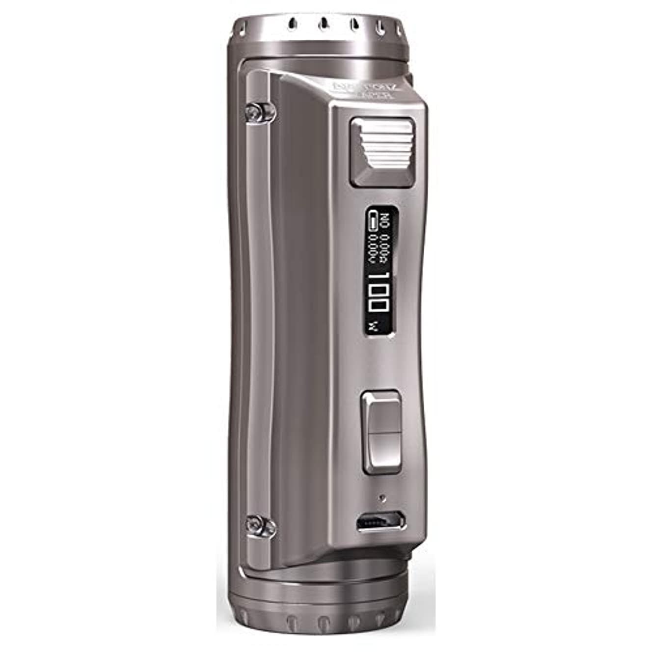 Ehpro Cold Steel 100 120W TC Box MOD デザイン抜群のシングルバッテリーMOD (Grey Champagne)