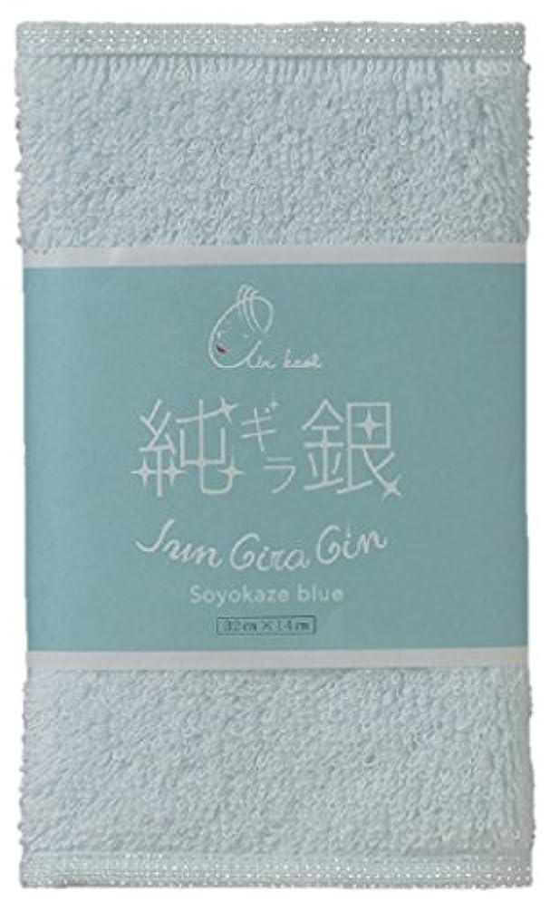 ペニー親密なファッションエアーかおる なでしこ 純ギラ銀 そよ風ブルー 32×14×1cm 3個セット