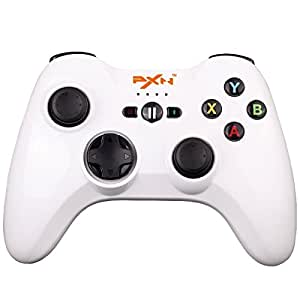 SRI SHOP ワイヤレスゲームコントローラー ios スマホ用  PXN-6603ホワイト