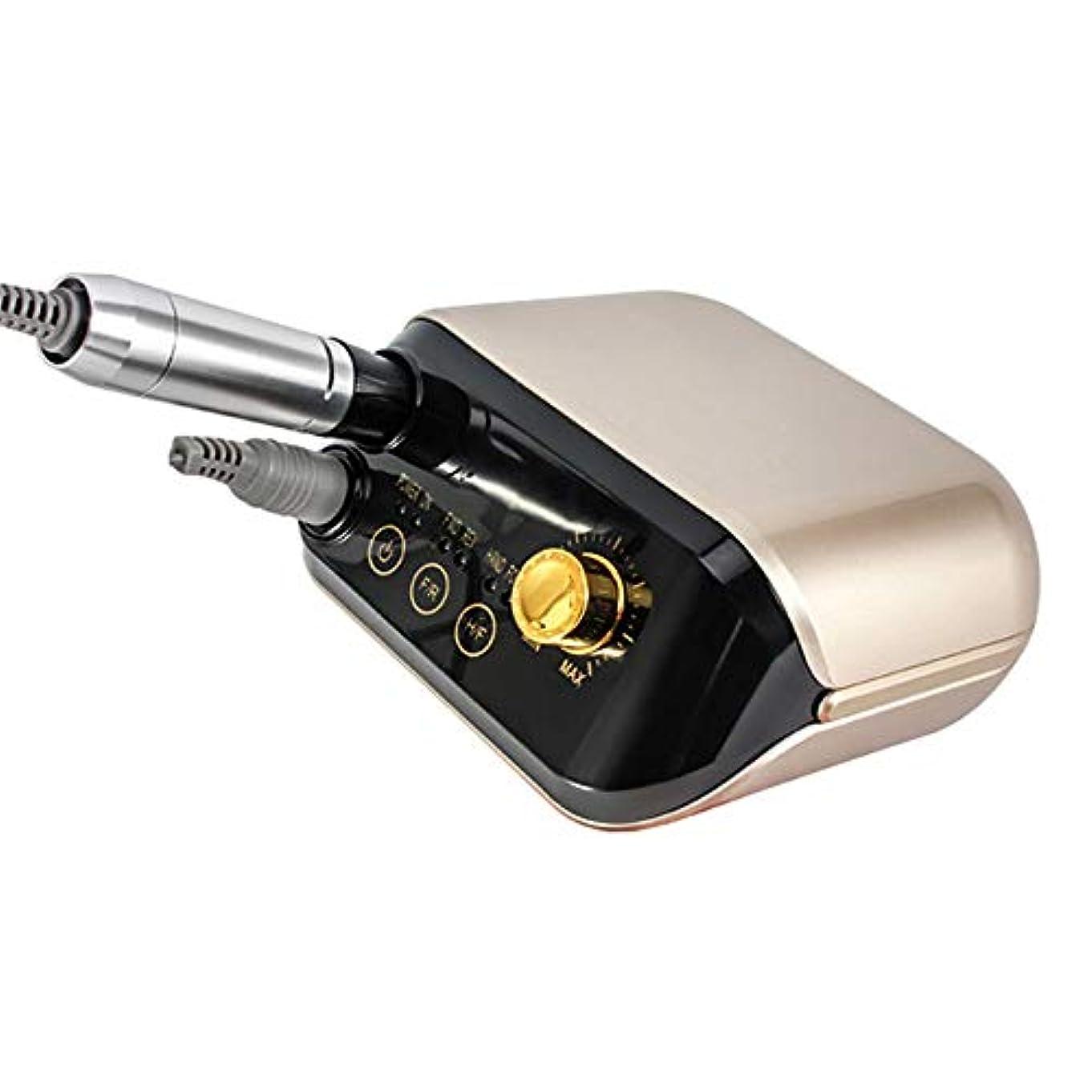 ライトニング一口軽蔑するネイルペディキュアマシン用ネイルドリルマニキュアマシンセット30W 25000 rpm Pro